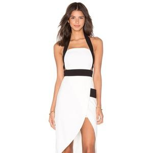 Finders Keepers White Boardwalk Cocktail Dress